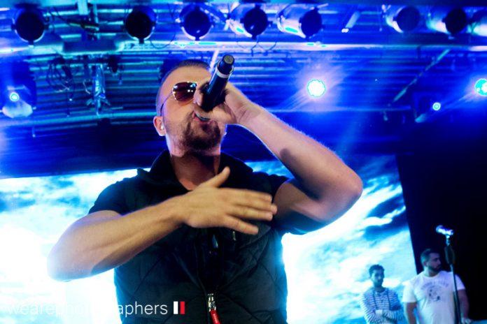 Kollegah und Farid Bang in München Backstage am 08.10.2014