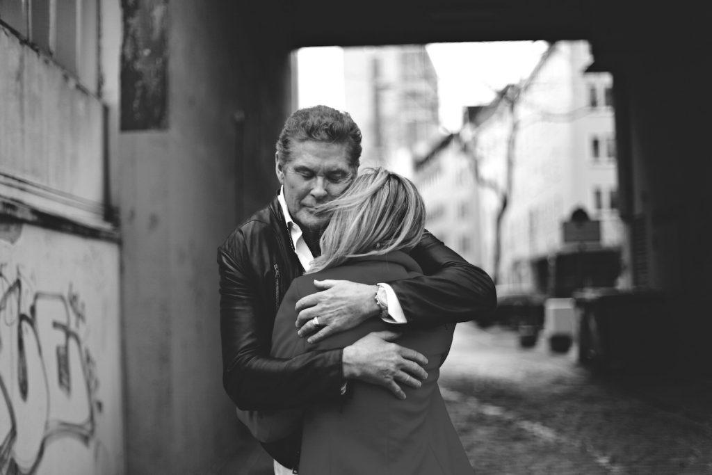 David Hasselhoff Frau Foto Ina Bohnsack