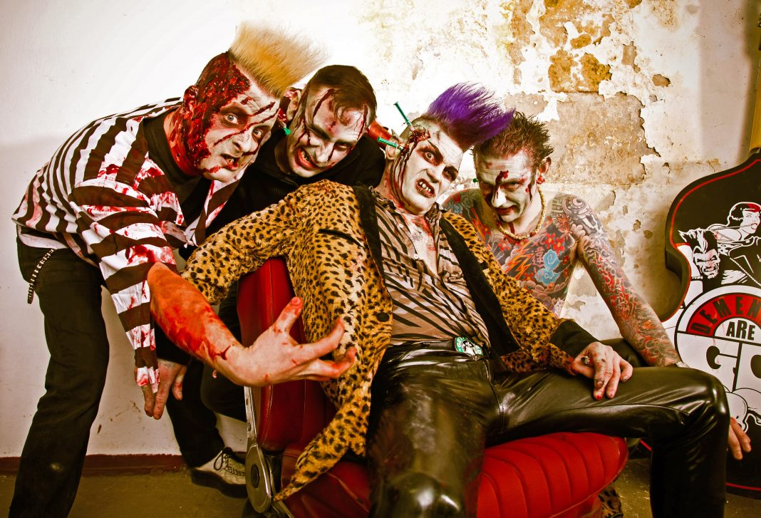 Demented Are Go Promo Foto Copyright: Pixeleye Dirk Behlau