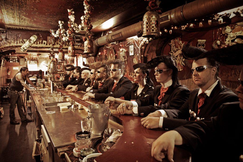 Finnische Rockband Leningrad Cowboys Foto Copyright: Pixeleye Dirk Behlau