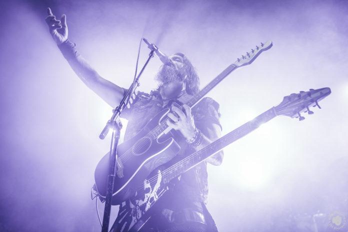 Robb Flynn von der Metal-Band Machine Head - Konzertfoto von Stephan Lindner