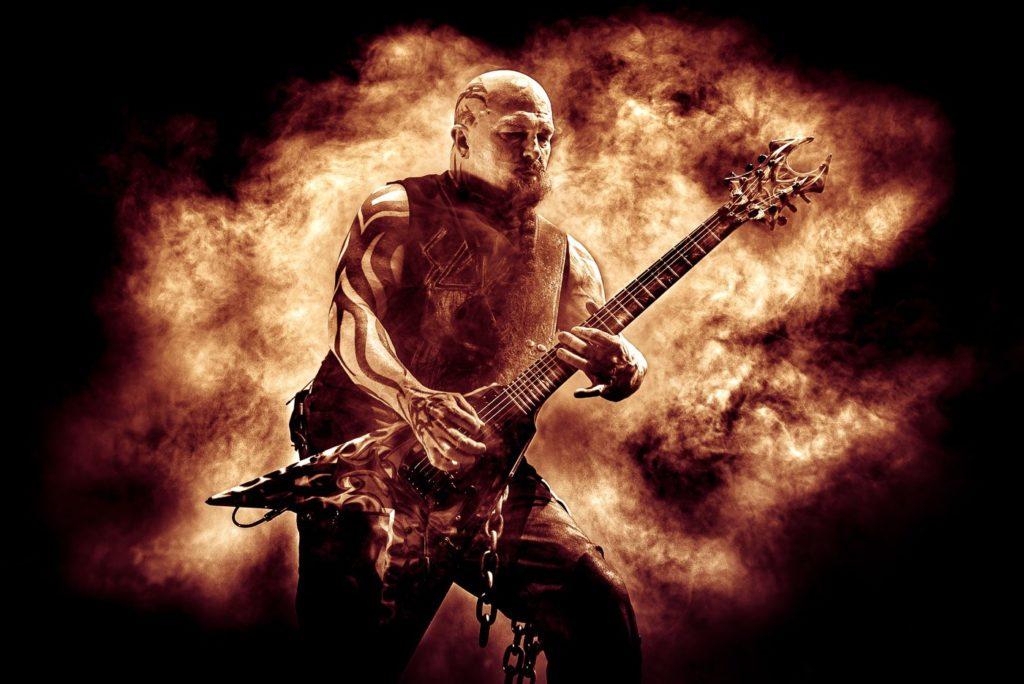Slayer concert photo by Joana Marcal Carrico